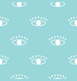 modern seamless pattern with hand drawn eyes vector image vector image
