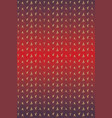 seamless pattern with red ombre knit vector image vector image