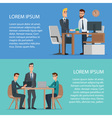 Teamwork and assistance business concept design vector image