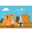 The Wild West vector image vector image