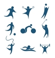 icons sports vector image