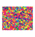 abstract colorful mosaic background picture vector image