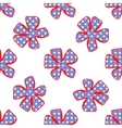 Abstract flower pattern A seamless background vector image