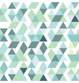 blue bright abstract triangles background vector image