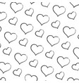 grunge art heart graphic shape background vector image vector image