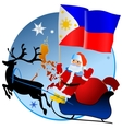 Merry Christmas Philippines vector image vector image