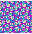 Seamless organic net pattern vector image vector image