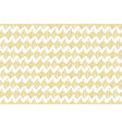 golden hand drawn pattern vector image