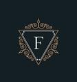 luxury logo vector image