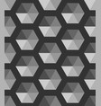 abstract black and white geometric vector image