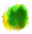 abstract watercolor stains background vector image vector image