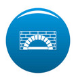 brick oven icon blue vector image vector image