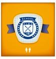 Design school emblem vector image vector image