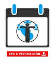 Fitness Calendar Day Eps Icon vector image vector image