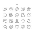 general well-crafted pixel perfect thin vector image vector image
