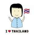 I love Thailand1 vector image