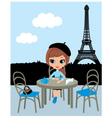 Parisian cafe vector | Price: 3 Credits (USD $3)