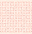 rose checkered square diamond pattern seamless vector image