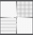 seamless pattern set fs vector image