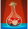 Love potion vector image