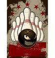 Bowling Mascot vector image vector image