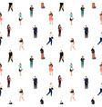 business people pattern vector image