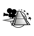 Cinema symbol vector image vector image
