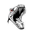 Tyrannosaurus head vector image