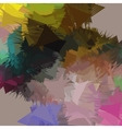 abstract background composition with strokes vector image