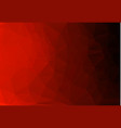 background made of red triangles square vector image
