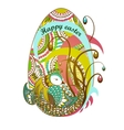 Easter egg Happy easter EPS10 vector image vector image