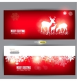 Elegant christmas banners vector | Price: 1 Credit (USD $1)