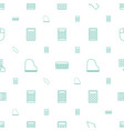 keyboard icons pattern seamless white background vector image vector image