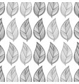 leaves background design decoration vector image vector image