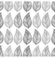 leaves background design decoration vector image