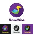 modern flat creative travel company minimalistic vector image vector image