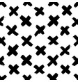 seamless cross pattern modern texture vector image