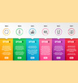 search water cooler and search text icons set vector image vector image
