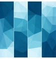 Set of Abstract Blue Background vector image vector image
