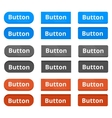 Three buttons variations vector image vector image