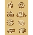 Cake Bakery vector image