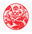 chinese new year 2021 year ox zodiac vector image vector image
