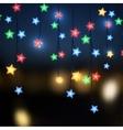 Christmas illumination vector image vector image