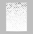 geometrical diagonal square mosaic pattern vector image vector image