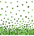 Horizontal seamless pattern for St Patricks day vector image vector image