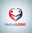 MEDICAL LOGO 8 vector image vector image