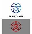 Number three 3 logo symbol design template element vector image