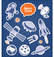 Space icons set vector | Price: 3 Credits (USD $3)