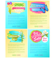 total discounts off advertisement stickers sale vector image vector image