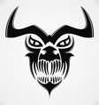 Tribal Demon Skulls vector image vector image